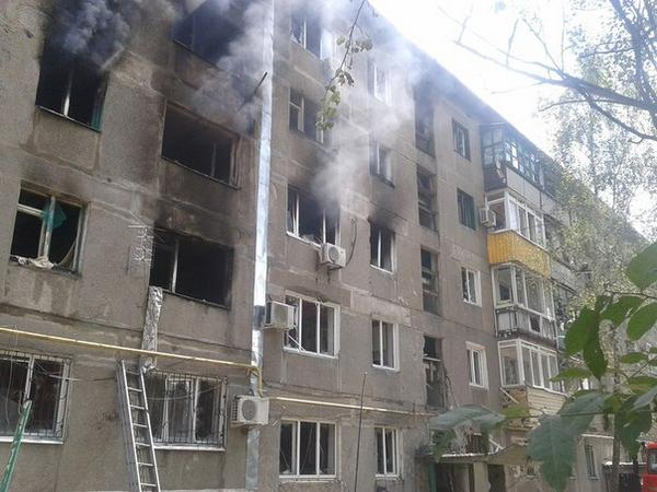 Consequences of war in Shakhtarsk