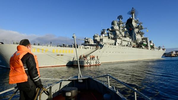 Russian fleet forced US submarine to leave Barents Sea