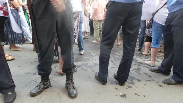 Small clashes in Kharkiv at rallies, Police has restored order