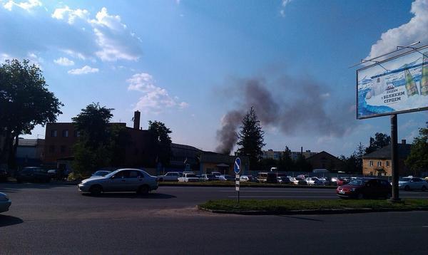 Fire in Kharkiv. Reports that transport company Fregat