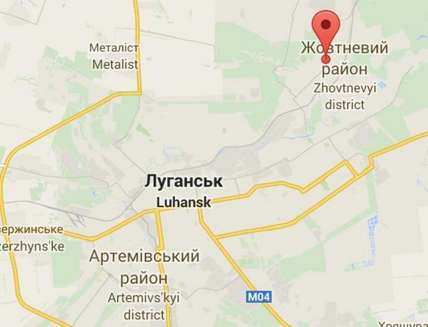 The Ukrainian army claims, it mostly liberated Verhunka, NE of Luhansk