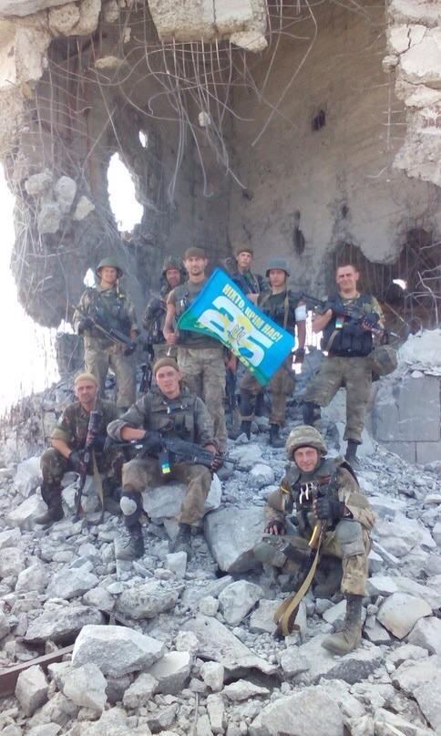 25 airborne Ukraine brigade on Saur-Mohyla