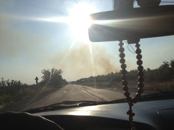 That is not a burning field!' Ukrainian troops on the attack near the encircled city of Horlivka