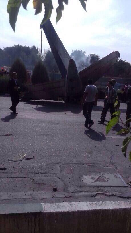 Reports that pilots of crashed Iranian passenger plane in Tehran can be Ukrainians