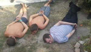 Saboteurs were detained In Zaporizhia