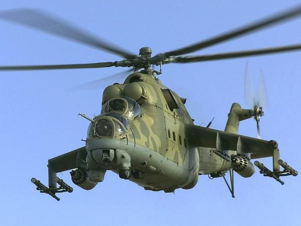 Two Russian Mi-24 helicopters and drones violated Ukrainian airspace in Luhansk region again
