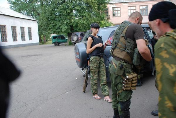 Motorola and his wife are back to Donetsk