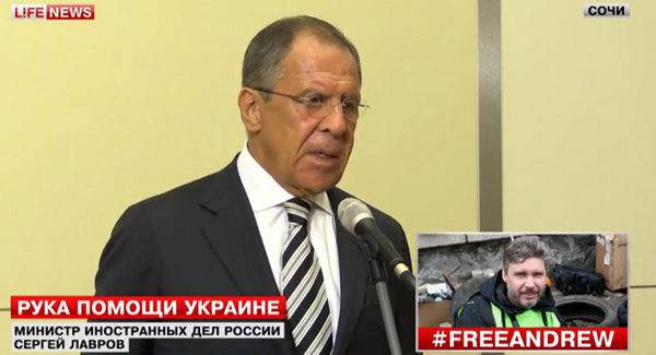 Lavrov: Russia is negotiating with Ukraine on the urgent delivery of humanitarian aid