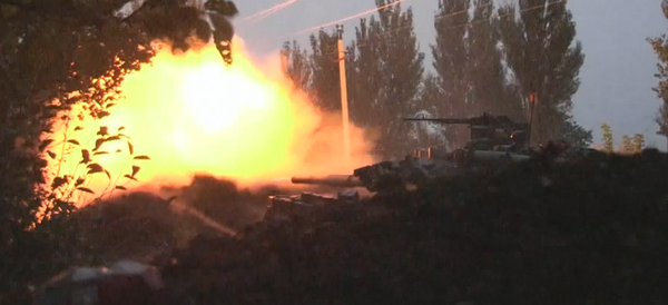 Ukrainian forces fight Russian invaders face to face in the Donetsk area of Pisky