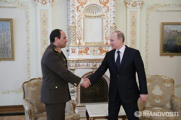 PUTIN: Russia, Egypt agree to expand military cooperation
