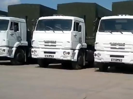 The convoy with humanitarian aid for Eastern Ukraine is going from Voronezh to Belgorod