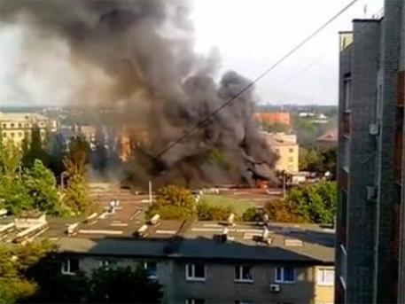 Battles in the outskirts of Donetsk