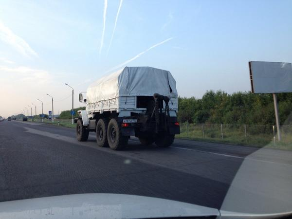 Recently re-sprayed. And not Kamaz but Ural military truck
