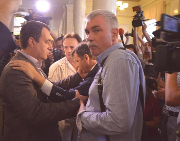MP Lyashko was beaten by another MP in Rada