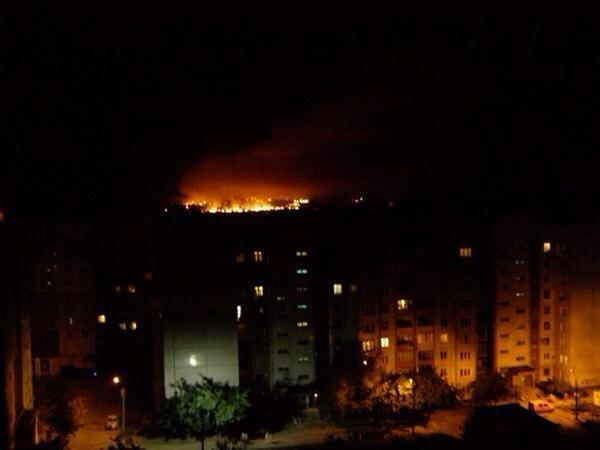 Donetsk is on fire now