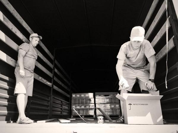 Russian humanitarian trucks are almost empty