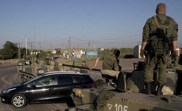 Russian military heads to Ukraine