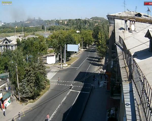 Shelling hits Donetsk