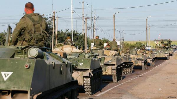 MFA of Lithuania: 70 military vehicles enter Ukraine from Russia