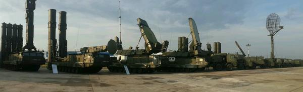 Russia Air defense systems  on TVM-2014 EXPO in Zhukovsky: S-300V, Pancir-S, S-400 and Casta-2.2