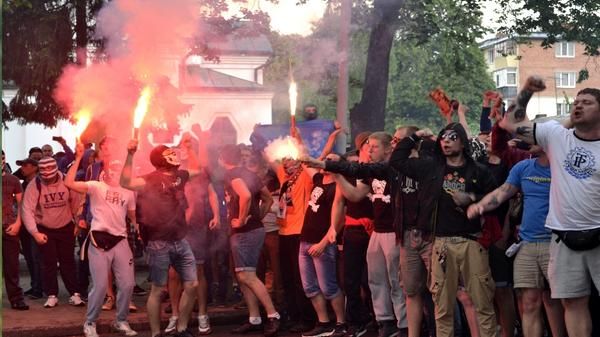 Ultras of Shakhtar joined the battalion Azov