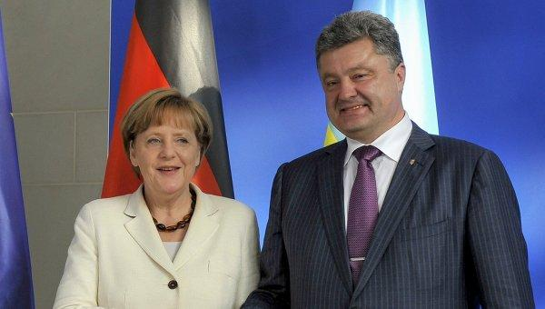 Poroshenko has invited German Chancellor Angela Merkel in Kiev to discuss the situation in the East