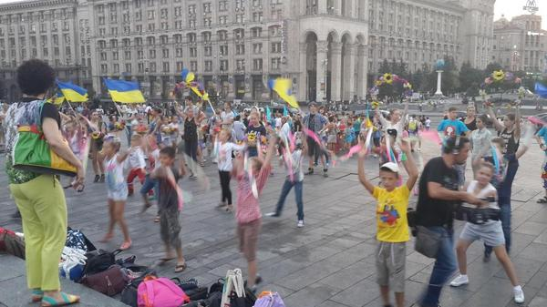 Rehearsal of the Independence Day in Kyiv