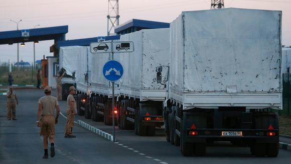 Ukraine carries out checks on Russian aid envoy