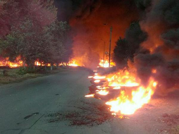 A fire at the station Gorodishe destroyed 25 houses