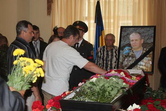 Kyiv said goodbye to the Afghanistan veteran Oleg Miknyuk, which was killed in the area of ATO