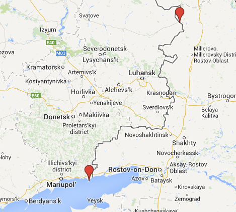 NSDC: Russian attack targets are extending from Milove on North to Sedove on South