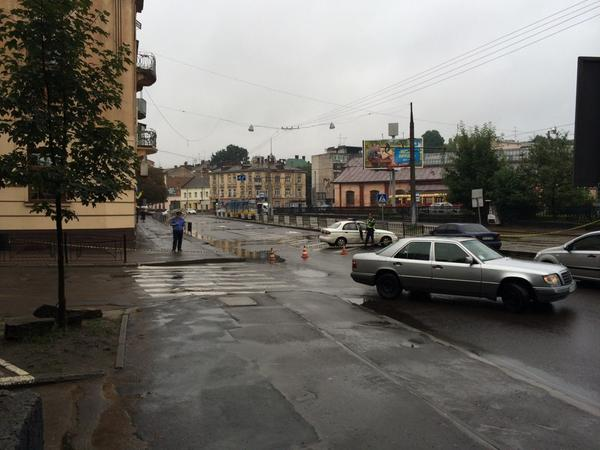 Tram line stopped after bomb threat in Lviv
