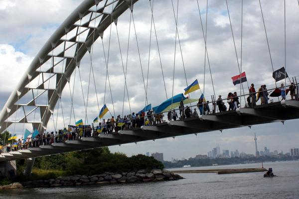 Independence day of Ukraine Toronto, Canada
