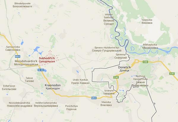 Big convoy of Russian military vehicles has breached the border into Ukraine