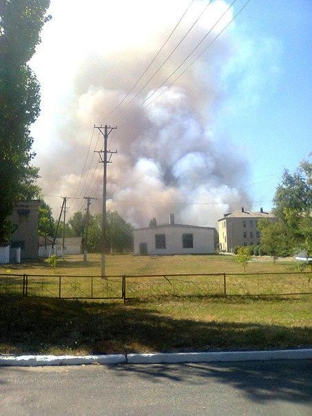 Novoazovsk : shell hit the hospital