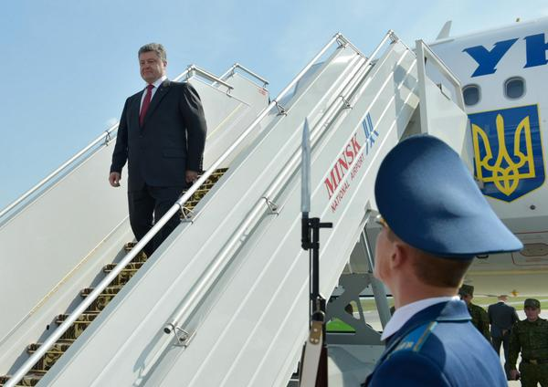 Poroshenko has arrived in Belarus