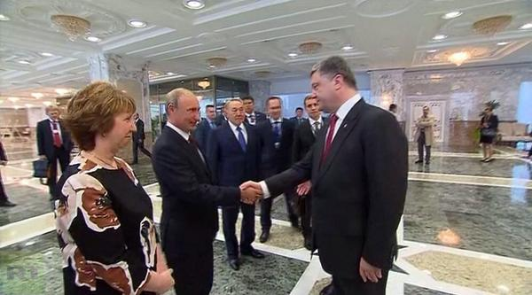 Putin hinted Poroshenko that the refusal of the total CIS standarts and adaptation to EU standards will cost billions Kyiv