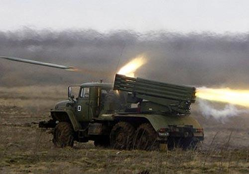 Militants shelled airport in Donetsk with MLRS Grad