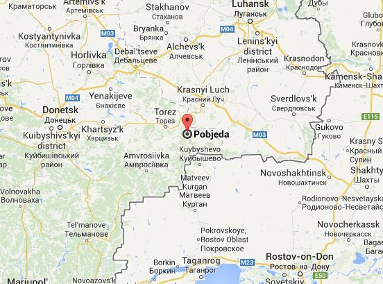 Russian regular armed forces set up HQ for a tactical battalion group outside of Pobeda near Snizhne