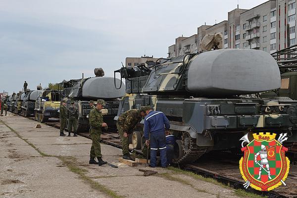Belarus send AA B-M1-2 Buk to Russia