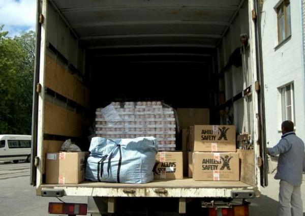 Poland delivered 280 tons of humanitarian aid to the Ukrainian army