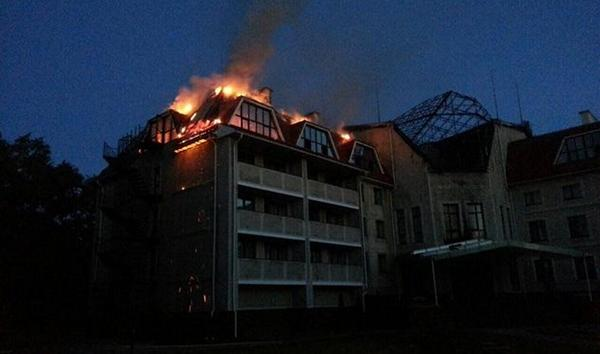 The main building of the training base of FC Shakhtar was destroyed tonight