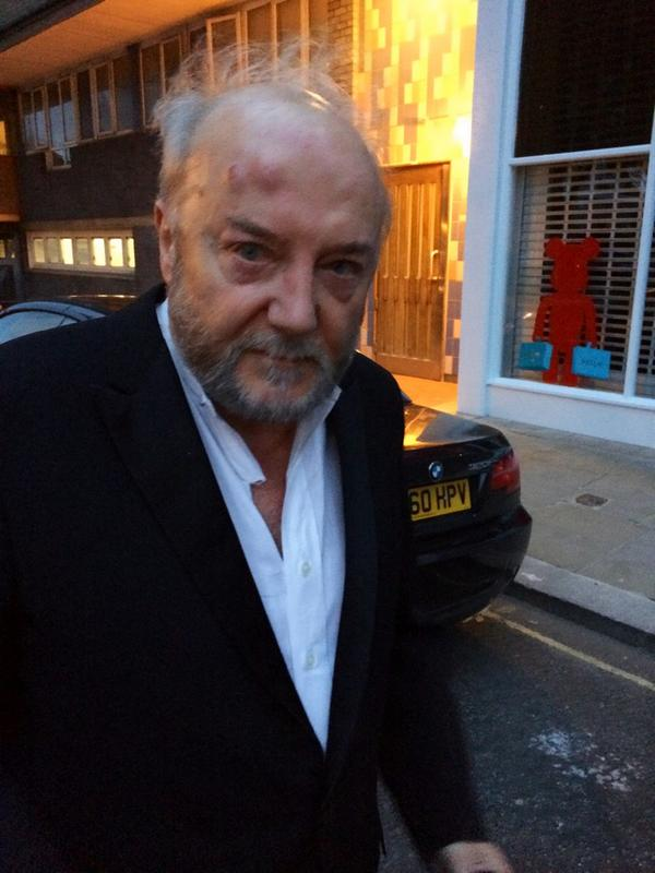 British MP and RT(Russia Today) host George Galloway was attacked in London