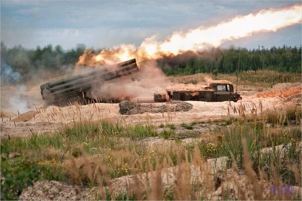 Russia shelled Vesela Hora near Shchastya with MLRS Hurricane