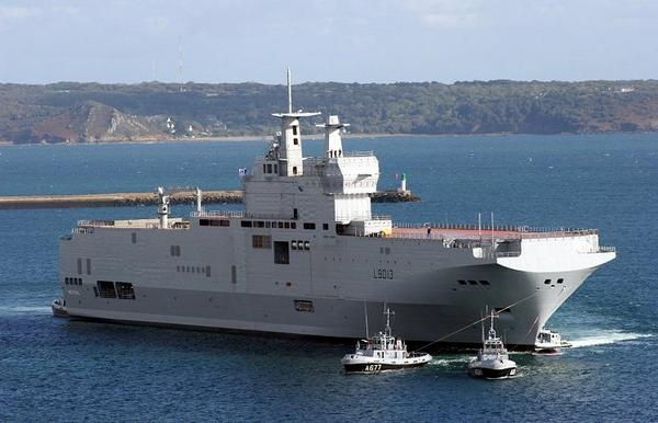 The Russians are preparing for the first sea test of Mistral
