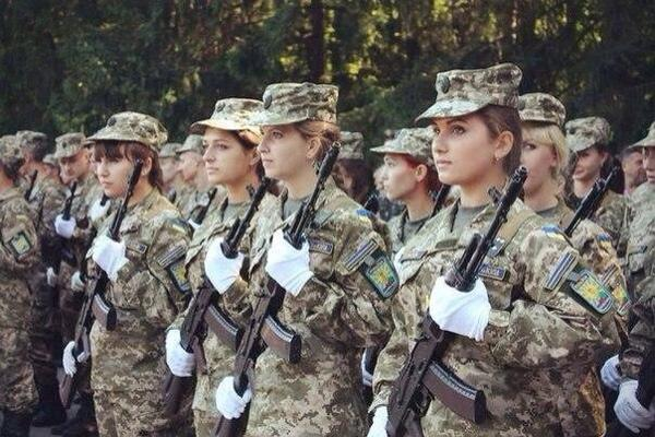 Ukrainian army - first day of study