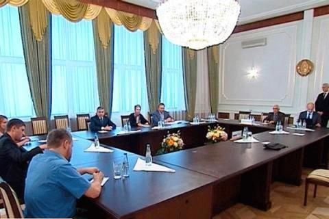 Meeting of the contact group Ukraine-Russia-OSCE ended in Minsk