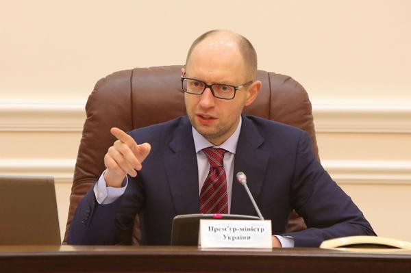 Ukraine starts the project the Wall on the border with Russia - Yatsenyuk