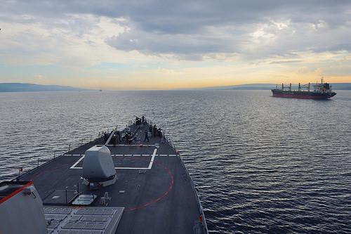 USS Ross to Enter BlackSea