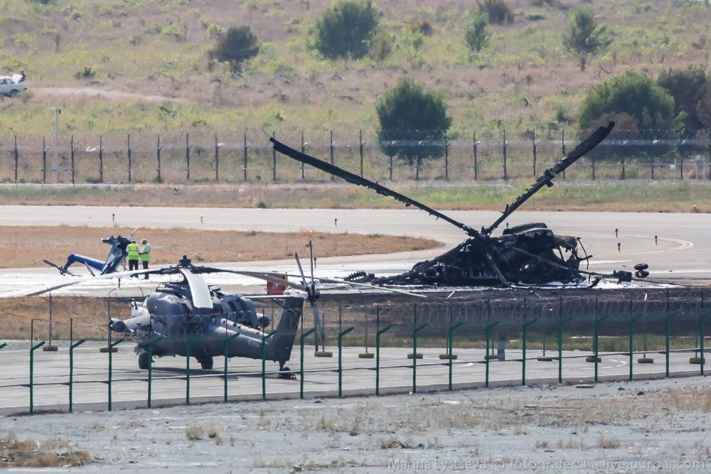 Mi-8 helicopter crashed In Gelendzhik